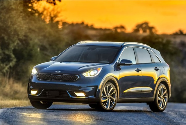 Photo of 2017 Niro courtesy of Kia.