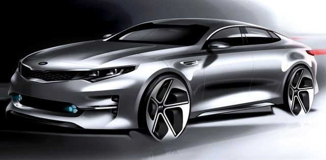 Optima rendering courtesy of Kia.