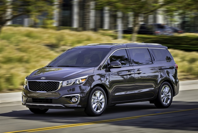 Photo of 2018 Sedona courtesy of Kia Motors.
