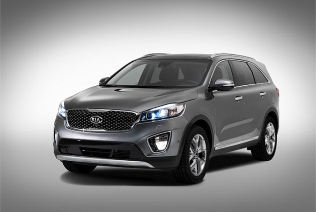 Photo of 2015 Sorento courtesy of Kia Motors.