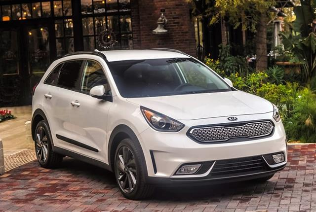 Photo of Kia Niro courtesy of Kia.