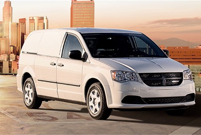 Photo of Ram C/V Tradesman cargo van courtesy of Chrysler.