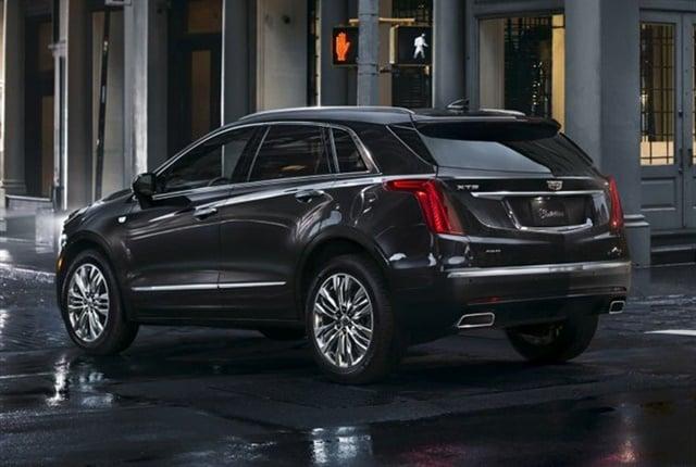 Photo of 2017 Cadillac XT5 courtesy of GM.