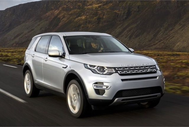 Photo of 2017 Land Rover Discovery Sport courtesy of Jaguar Land Rover.