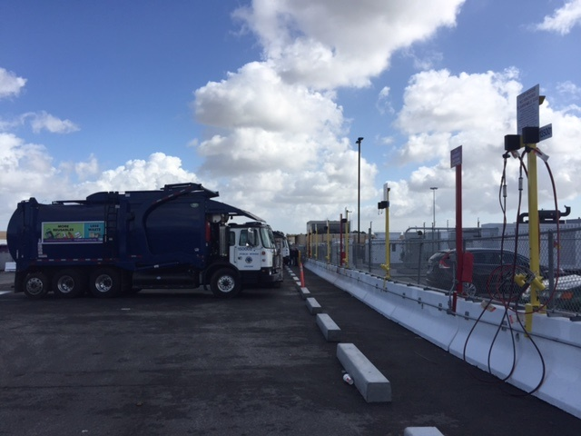 Photo of City of Long Beach's existing CNG fueling infrastructure by Thi Dao.