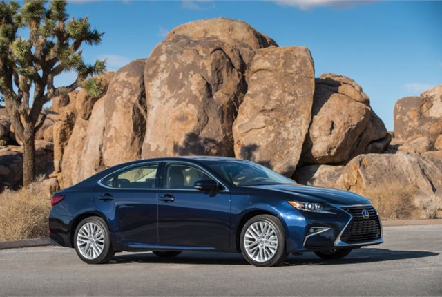 Photo off 2016 ES 350 courtesy of Lexus.