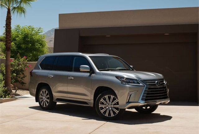 Photo Of 2016 Lx 570 Courtesy Lexus