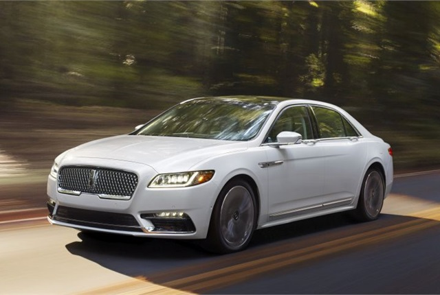Photo of 2017 Continental courtesy of Lincoln.
