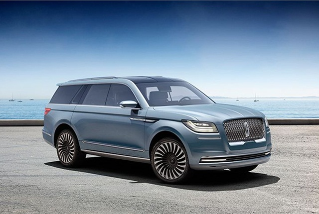 Photo of Navigator Concept courtesy of Lincoln.