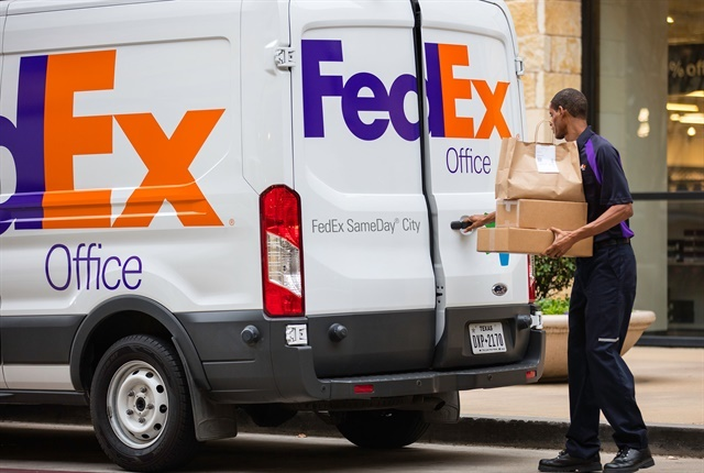 Photo courtesy of FedEx.