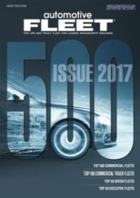 The 2017 edition of AF's Fleet 500 annual magazine featured the top 300 commercial fleets.