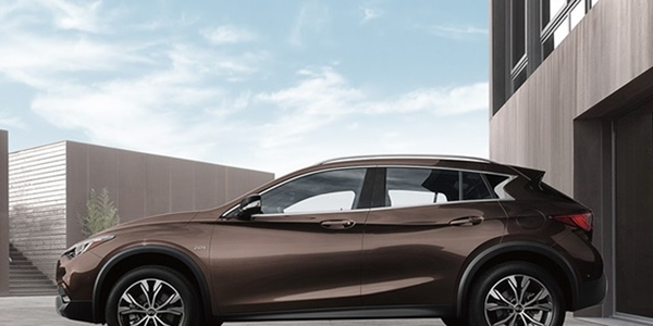 The Infiniti QX30 may be one model that will be electrified by 2021.