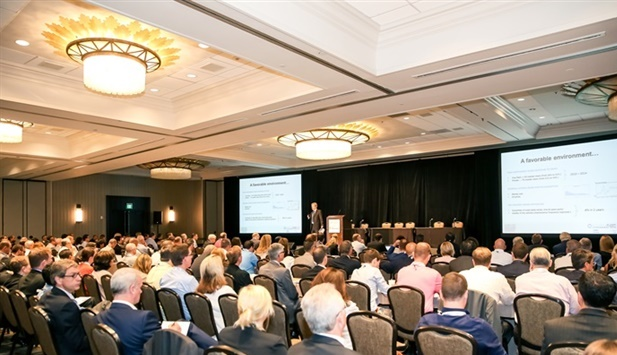 The 2017 Global Fleet Conference will be returning to the Miami Marriott Biscayne Bay, Miami, Fla. site of the sold out 2015 conference (pictured). Photo: Chris Wolski