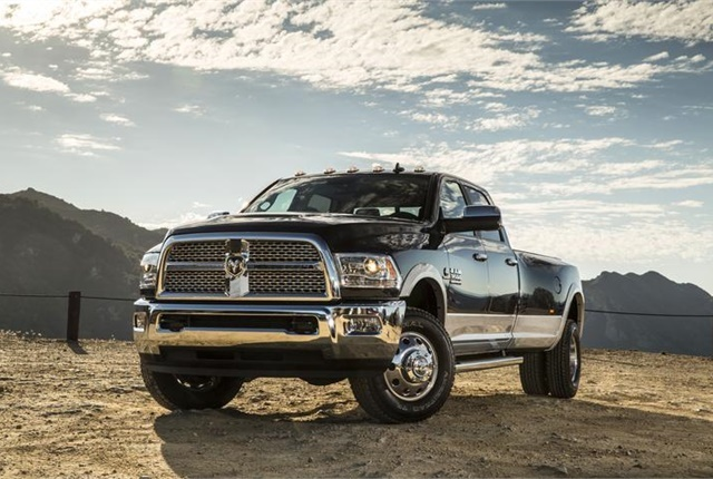 Photo of the Ram 3500 Laramie courtesy of FCA.
