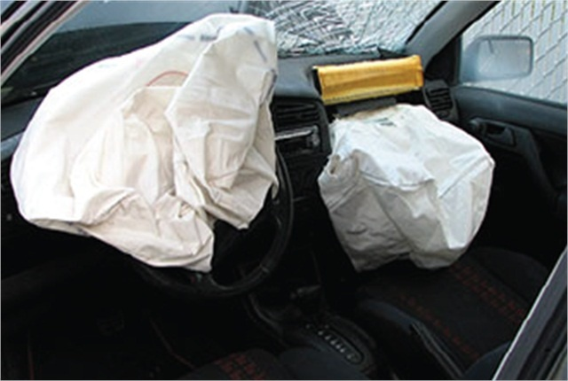 Air bag photo courtesy of the National Highway Traffic Safety Administration.