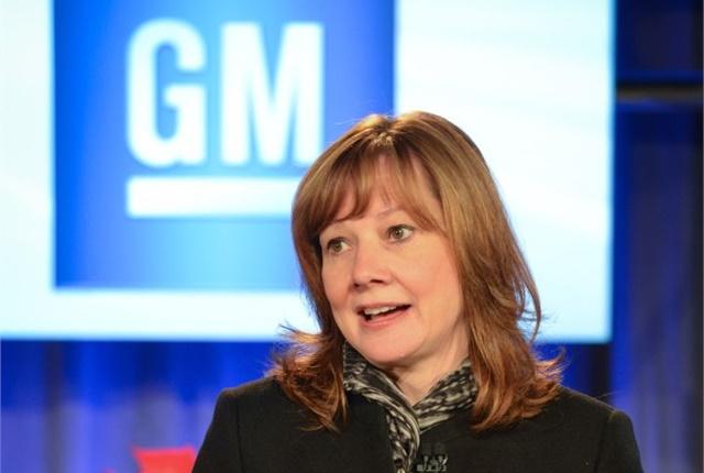 Photo of CEO Mary Barra courtesy of GM.