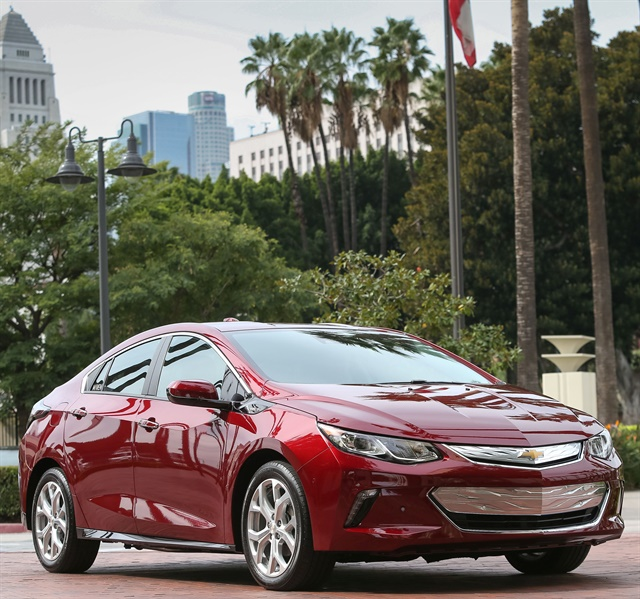 The Chevrolet Volt will be offered to Maven Reserve customers in Los Angeles and San Francisco. Photo courtesy of GM
