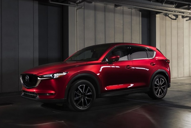 Photo of 2018 CX-5 courtesy of Mazda.