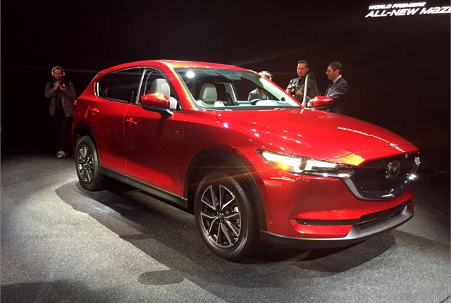 Photo of next-gen Mazda CX-5 by Paul Clinton.
