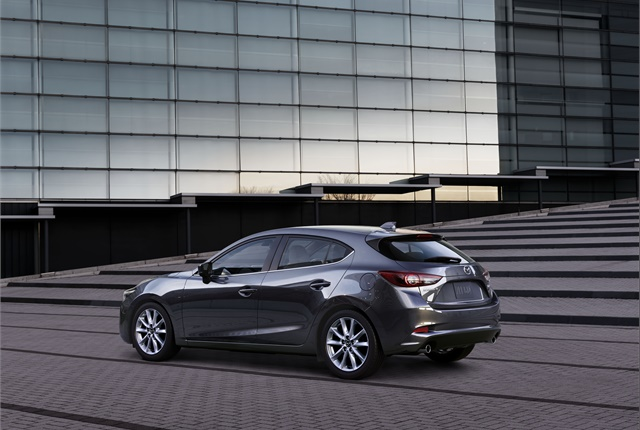 Photo of Mazda3 courtesy of Mazda.