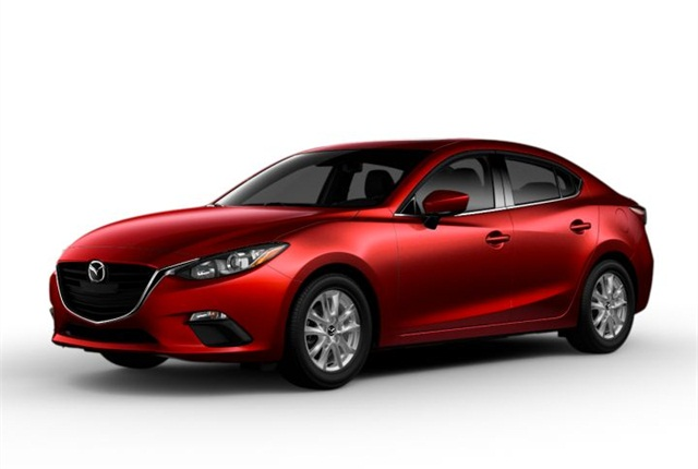 Photo of 2014 Mazda3 courtesy of Mazda.