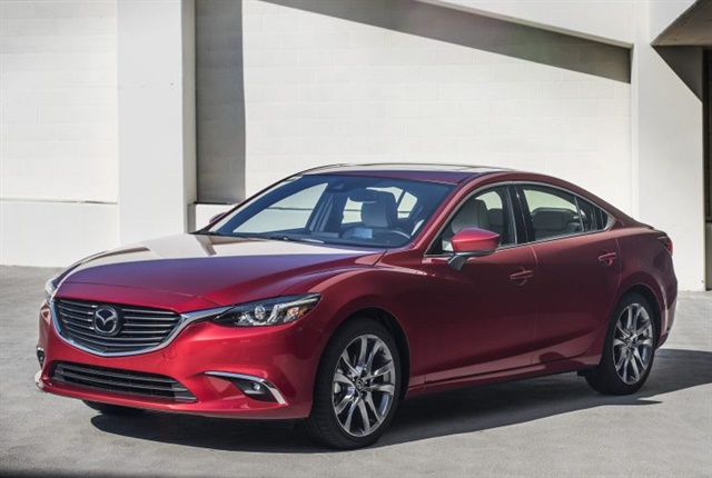 Photo of 2017.5 Mazda6 courtesy of Mazda.