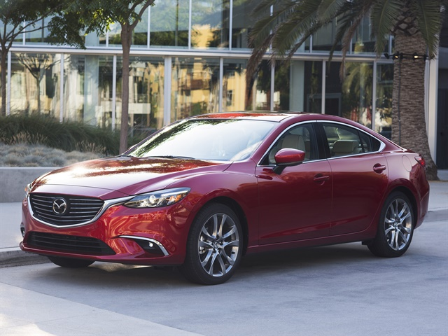 Photo of the 2017 Mazda6 courtesy of Mazda.