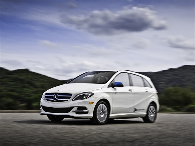 Photo of B250e courtesy of MBUSA.