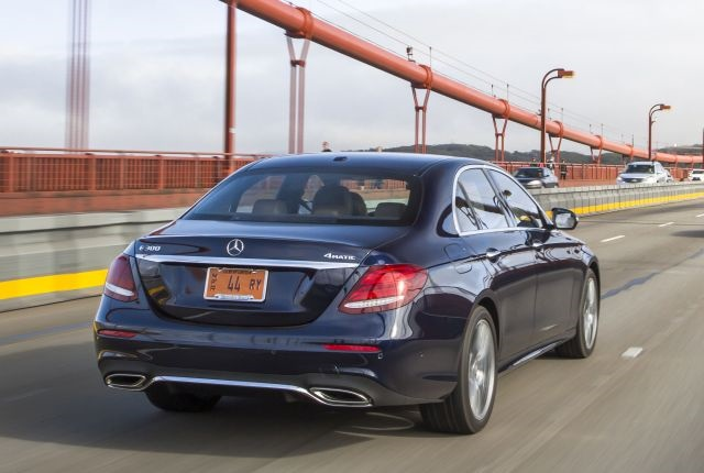 Photo of current generation E300 courtesy of Mercedes-Benz.