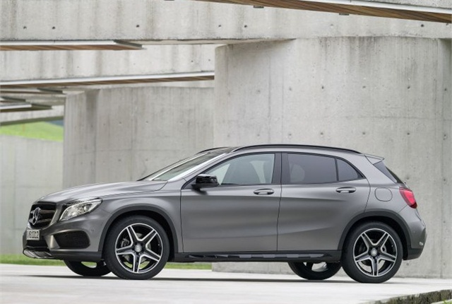 Photo of 2015 GLA-Class courtesy of MBUSA.