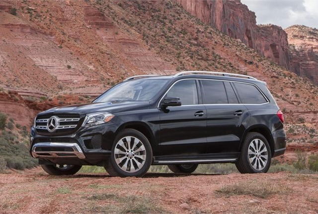 Photo of the 2017 GLS450 courtesy of Mercedes-Benz.