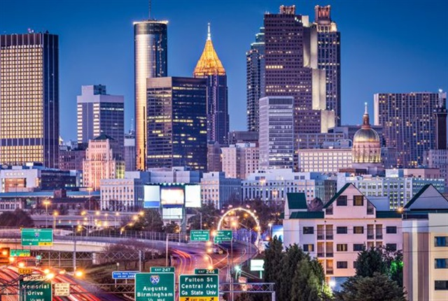 Photo of the Atlanta skyline courtesy of PSA Group.