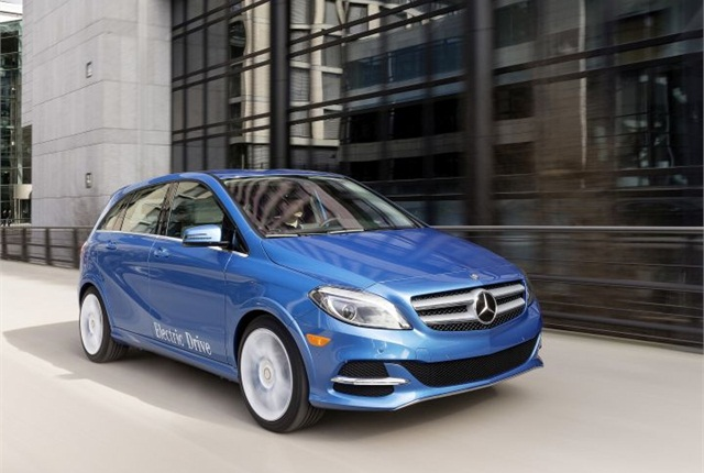 Photo of B-Class ED courtesy of Mercedes-Benz.