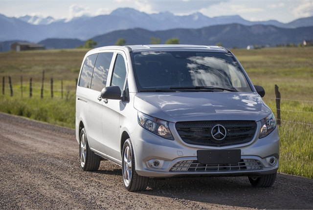 Mercedes-Benz is launching the Metris midsize van for 2016. Photo by Ian Merritt/MBUSA.