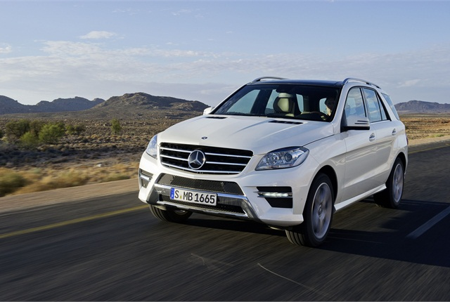 The Mercedes-Benz M-Class has been named an IIHS TSP+.