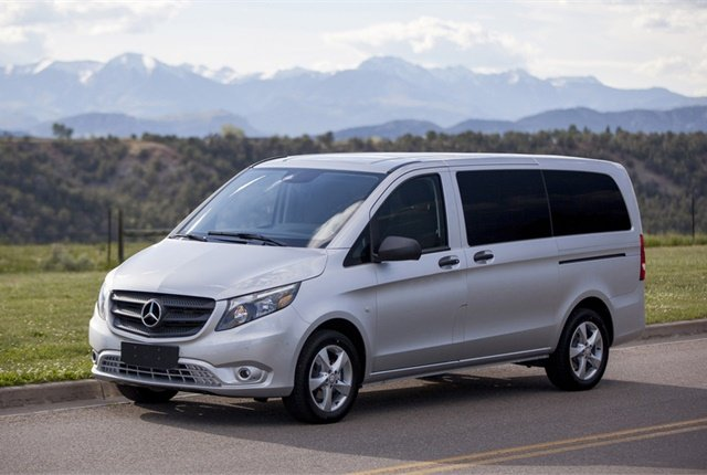 Photo of Mercedes-Benz Metris courtesy of Mercedes-Benz.