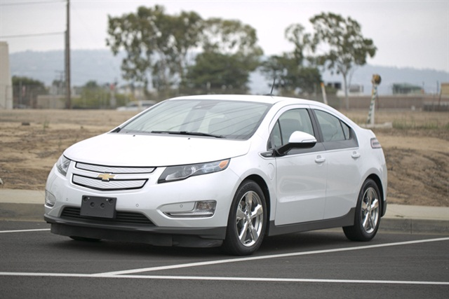 The 2015 Chevrolet Volt, photo by Kareem Girgis.