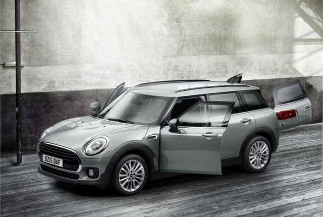 Photo of 2016 MINI Clubman courtesy of BMW.
