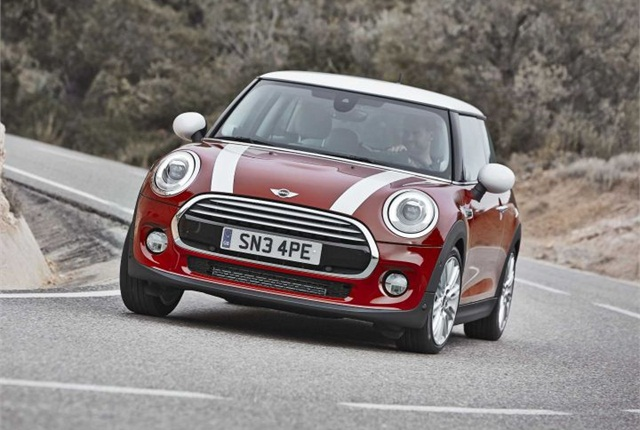 Photo of 2014 MINI Cooper courtesy of BMW.