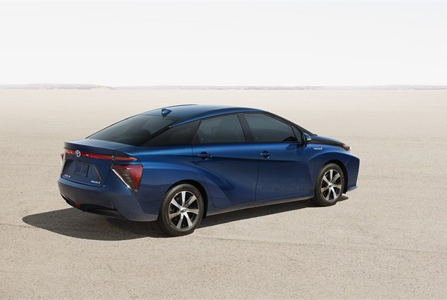 <p><em>Photo of Toyota Mirai courtesy of Toyota.</em></p>