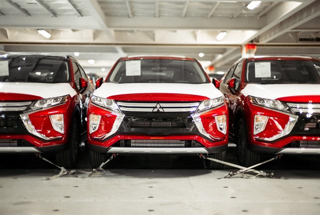 Photo courtesy of Mitsubishi.