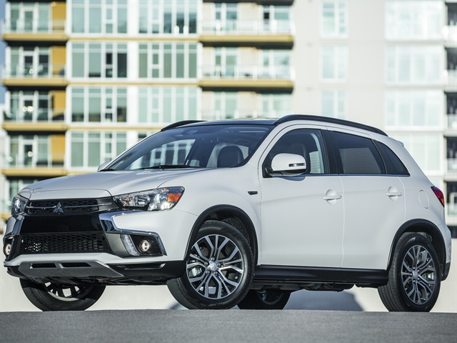 Photo of 2018 Outlander Sport courtesy of Mitsubishi.
