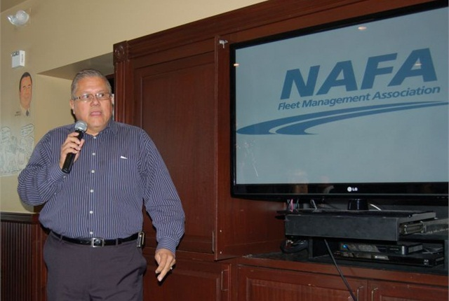 NAFA Pacific Southwest Chapter President Tony Orto thanks members at the conlusion of the annual meeting.