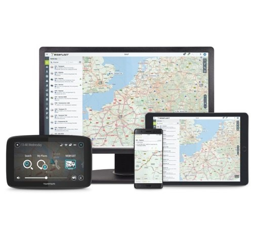New WEBFLEET is available to all TomTom Telematics customers across 60 countries, in 13 languages. (Image courtesy of TomTom Telematics)