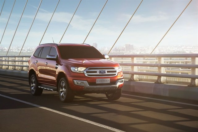 The Ford Everest. Photo: Ford Motor Company