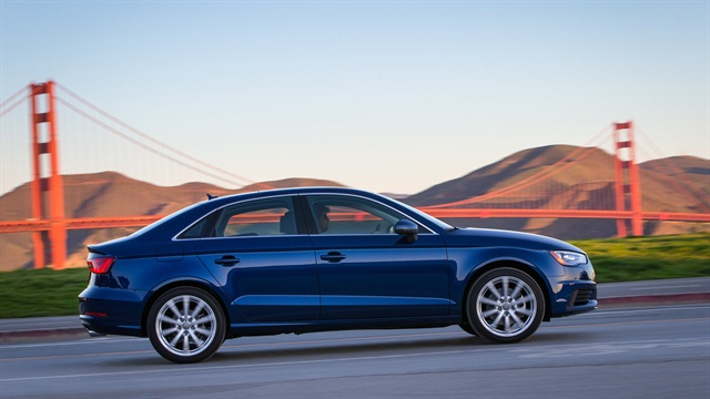 Photo of he 2016 A3 sedan courtesy of Audi.