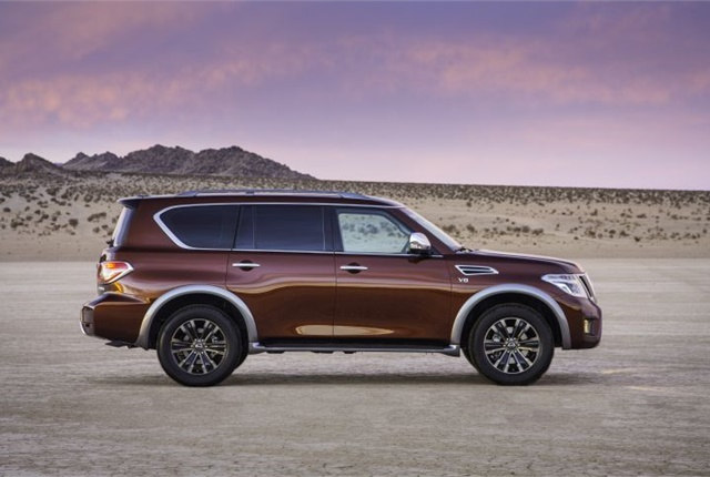 Photo of the 2017 Armada courtesy of Nissan.
