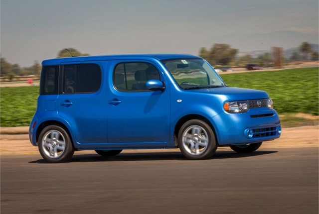 Photo of 2014 Cube courtesy of Nissan.