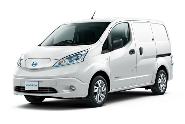 Photo of e-NV200 courtesy of Nissan.