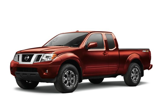 Photo of 2017 Frontier courtesy of Nissan.